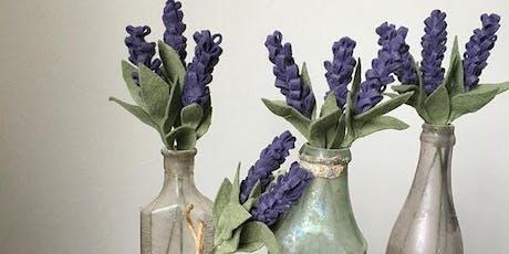 Felt Flowers - Lavender Bundle  tickets