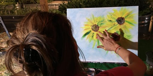 Painting Without Brushes at La Mexicana