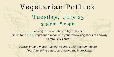 Free Vegetarian Potluck  tickets