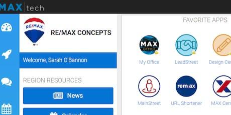 RE/MAX & Concepts Tools (2 CEUs #256-3700-E, Agent Tools) tickets