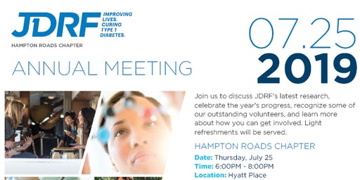 JDRF Annual Meeting 2019
