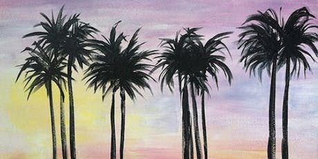 Paradise Oasis Paint Night at Green Bar tickets