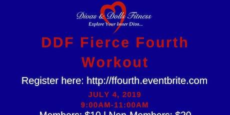DDF Fierce Fourth Workout tickets