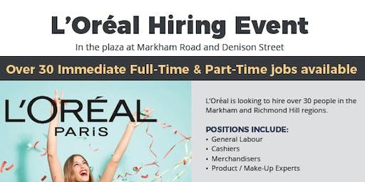 L'Oreal Hiring Event