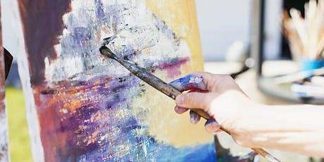 Beginnerr & Intermediate Painting Class, Toronto - Summer Term tickets