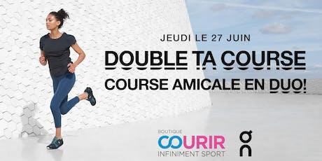 Double ta Course - Course amicale en duo! billets