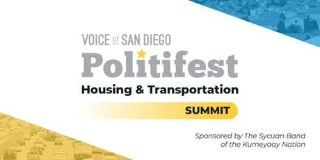 Politifest Housing and Transportation Summit 2019 tickets