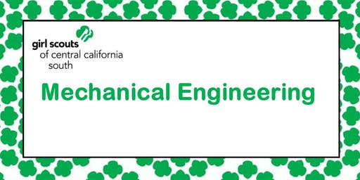 Mechanical Engineering for Brownies- Fresno