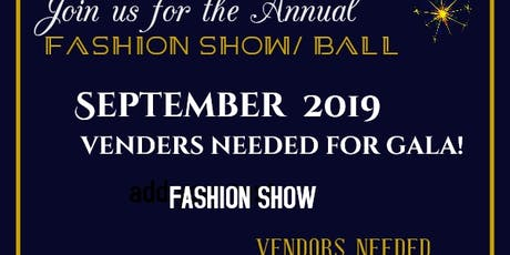 VENDORS NEEDED FOR SEPT 2019 tickets