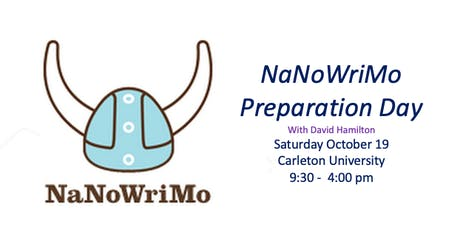 NaNoWriMo Preparation Day tickets