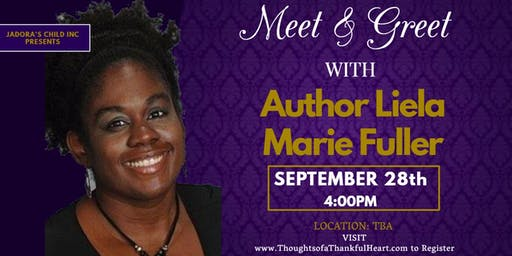 Meet & Greet / Book Signing with Author Liela Marie Fuller