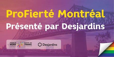 ProFierté Montréal présenté par Desjardins billets