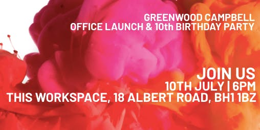 Greenwood Campbell | New Office Launch & 10 Year Anniversary Celebration