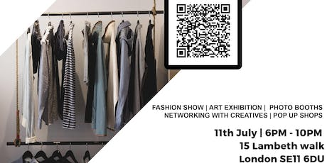 The Creatives Fashion & Art Showcase Networking Event tickets