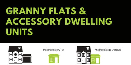 Granny Flats & Accessory Dwelling Units tickets