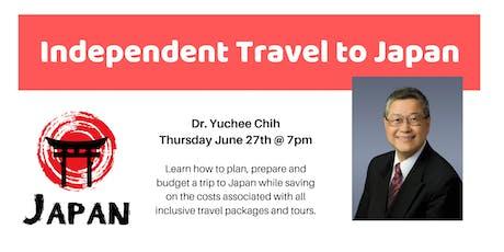 Independent Travel to Japan Workshop tickets