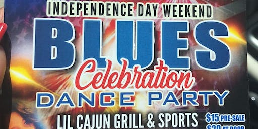 Independent Day weekend Blues Celebrations Dance Party