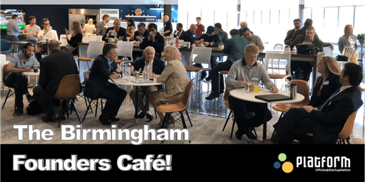 Birmingham Founders cafe'! - Startup -Right Side Up!