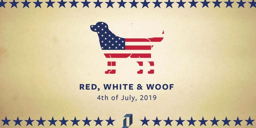 Red, White and Woof: An All-American Pool Pawty