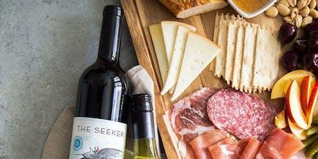 Wine & Wood Live Edge Charcuterie Board Workshop tickets