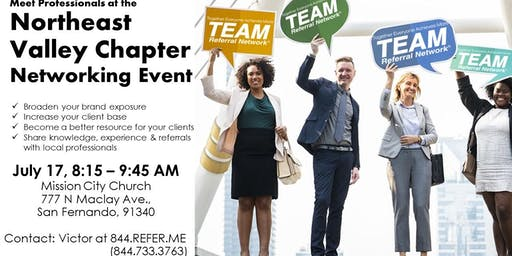 Northeast Valley Chapter Networking Event