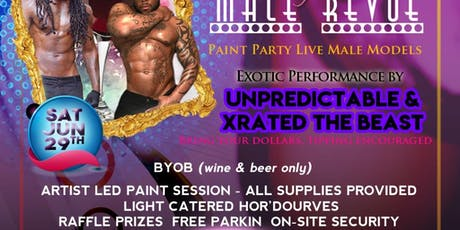 Paint Sip N' See Durham Male Exotic Dancers tickets