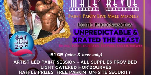Paint Sip N' See Durham Male Exotic Dancers