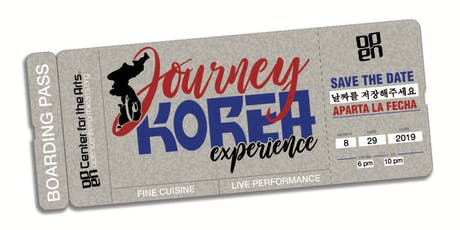 Journey to Korea Experience tickets
