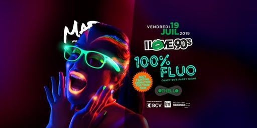 I LOVE 90'S - 100% FLUO