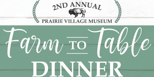 2nd Annual Farm to Table Dinner