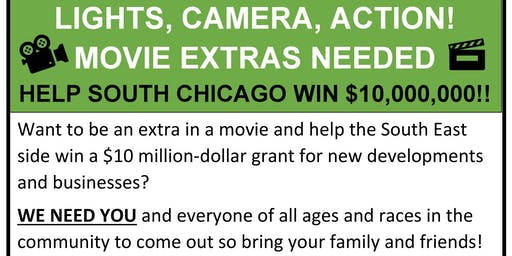 Movie Extras Needed In South Chicago!