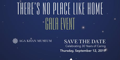 There's No Place Like Home Gala Event tickets