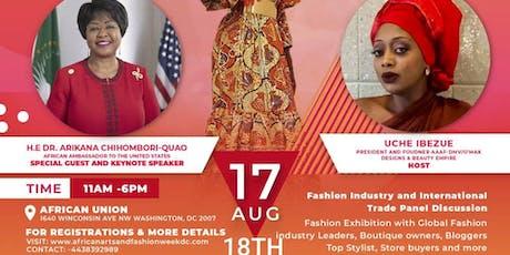 African Arts & Fashion Week DC Runway Showcase tickets