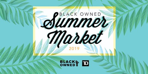 Black Owned Summer Market