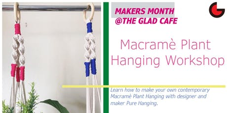 Macramè Plant Hanging Workshop tickets