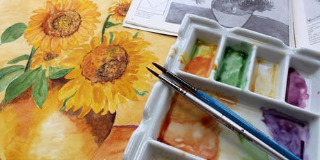 The Basics of Watercolor Painting with Gerald Homminga tickets