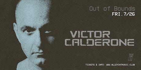 Victor Calderone tickets