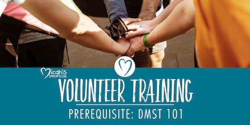 Micah's Promise Volunteer Training - September Evening