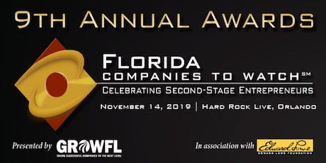 2019 Florida Companies to Watch tickets