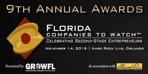 2019 GrowFL Florida Companies to Watch