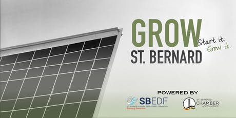 Grow St. Bernard: Small Business Financial Bootcamp tickets