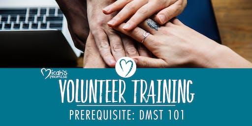 Micah's Promise Volunteer Training - September Midday