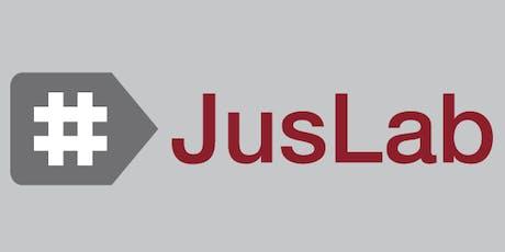 Segunda reunión ordinaria del #JusLab entradas