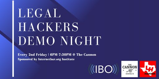 July Legal Hackers Demo Night