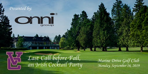Last Call Before Fall, an Irish Cocktail Party