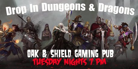 Drop In Dungeons & Dragons tickets
