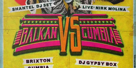 Movimientos: Balkan Vs. Cumbia - Shantel (DJ Set), Nirk Molina & More! tickets