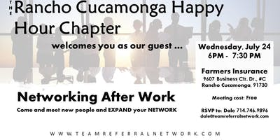 Rancho Cucamonga Happy Hour Networking Event