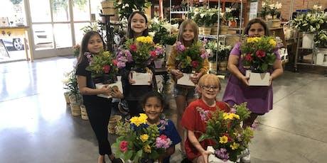 Kids Floral Design Class & Tour tickets