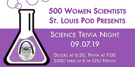 Science Trivia Night tickets